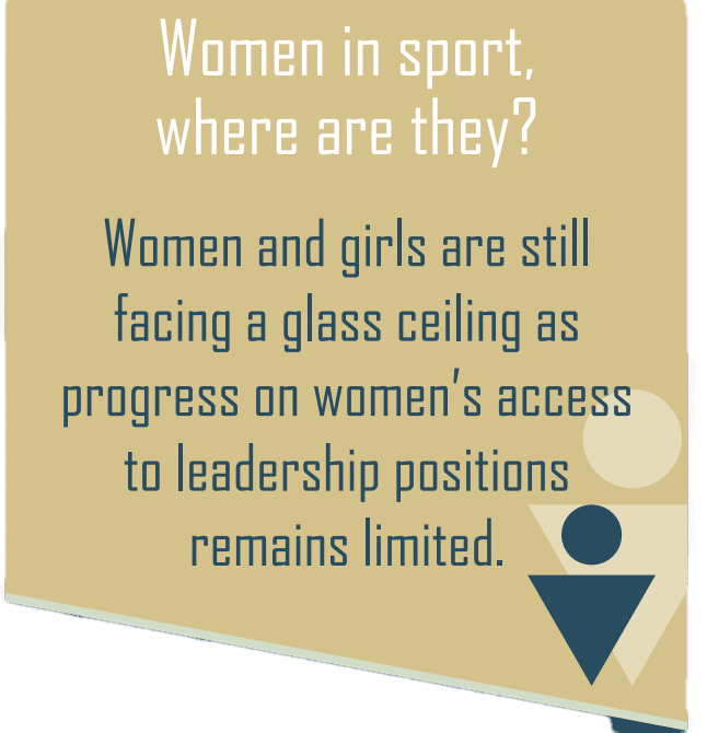 The glass ceiling in sport governing body