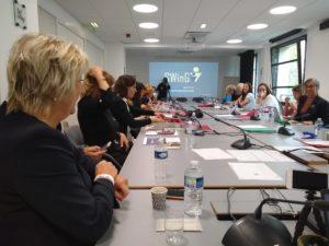 Marie Christine Ogly ouvre la Session d'orientation des mentors SWinG