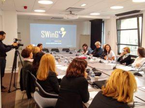 Silence ça tourne durant la Session d'orientation des mentors SWinG