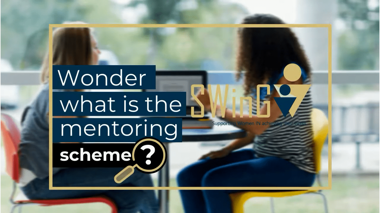 SWinG mentoring scheme explained simply