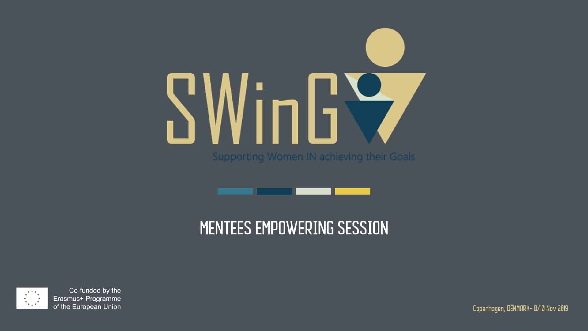 SWinG Mentees Empowering Session