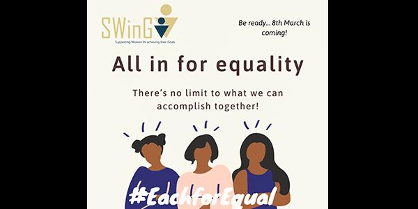 Campagne SWinG 2020 Journée des femmes
