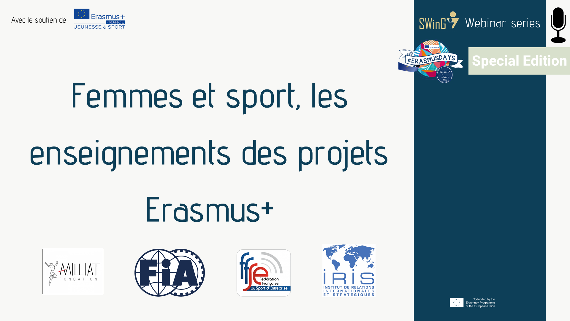 ErasmusDays femmes et sport