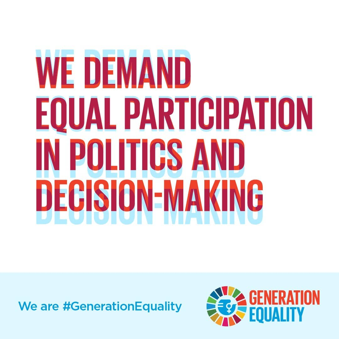 SWinG joins Generation Equality's claims on governance